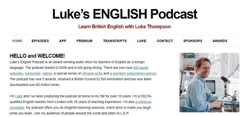 Luke's English Podcast