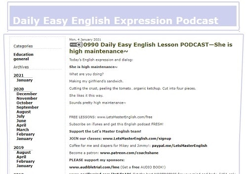 Daily Easy English Expressions
